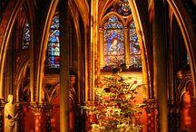 'Tis the Season / Lighting inspiration for Churches, Christmas  and Hanukkah events