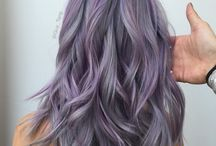 Puple hair colour