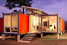 Container Houses (Shipping, Cost Effective, & Other) / by Debra Collins