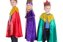king costume nativity