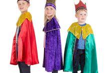 king costume nativity