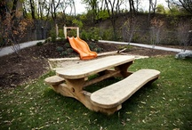 cool playgrounds and treehouses / by Emily Blackwell