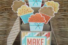 Card in a box templates/ideas