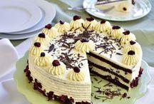 aszalt afonyas torta