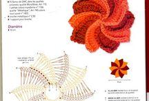 horgolás - virág