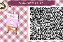 Kawaii Pastel conejito qr Acnl =:3