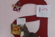 Alphabet Pinboards / Custom made letters of the alphabet. Fun personal gift for anyone.