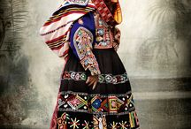 Around the world in 180 skirts. / Amazing skirts from all countries and cultures.