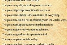 Buddhism - Mindfulness / .. and other quotes