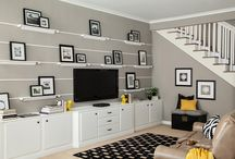 Media Rooms / A place to relax and enjoy a movie or just a TV show, it needs to be stylish and comfortable!
