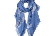 Zari Brilliant Blue 100% Pashmina
