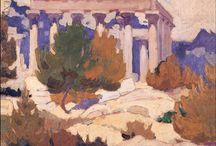 Greek Painters - Έλληνες Ζωγράφοι / Konstantinos Maleas