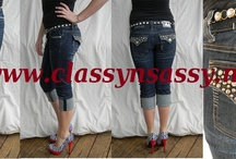 La Idol & Miss Chic Jeans/Capri's / I just LOVE both of these Brands, they are so CUTE and COMFY!