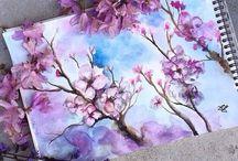 inspirasjon og maling