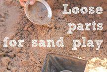 Sand / EYFS ideas for sand areas