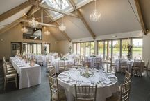 The Orchard Barn / Wine and dine your wedding guests in our Orchard Barn.