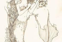 Illustrations ... Story ... Mermaid