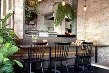 Bar & restaurant interior design