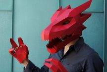 papercraft masque