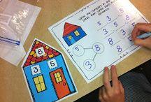 Prep maths / Teaching ideas