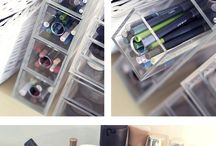 Dressing table make up jewellery