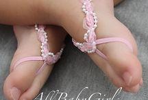 Bebek Yalınayak Sandalet