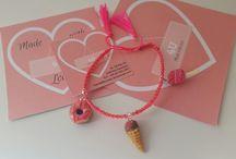 Braccialetti... @fatto.4u / #masaflexible #coldporcelain #porcelanafria #fatto4u #4u #handmade #hechoamano #pulsera #bracciale #braccialetti #braccialetto #fimo #polimer #polyclay