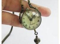 Victorian or Steampunk Pocket Watches / Battery powered pocket watches with a Victorian or Steampunk style