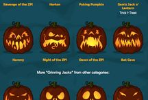 Jack o lanterns and others for halloween..*-*