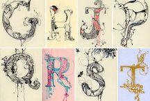 Typografi, logo mm.