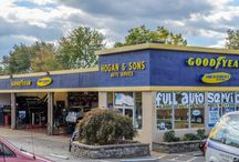 Falls Church / Hogan & Sons Tire and Auto offers vehicle check-up and transmission service in Falls Church, VA. Our technicians are ASE certified and offers same day service whenever possible. Visit www.hoganandsonsinc.com