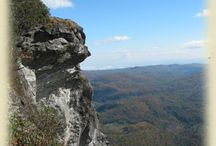 Mountains of North Carolina and Tennessee  / by KathyMillerTime