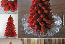 Christmas... Xmas.. / Christmas ideas. Decorating, creative food,