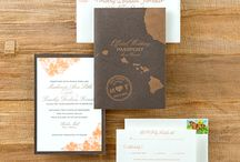 Hawaii - Deb and Jim - invite insp.