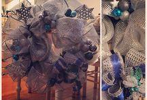 *Wreaths by Stephanie* / Wreaths I made...will custom make to order!:) / by Stephanie Ney