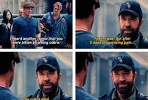 Chuck Norris! / by Angie Gallegos
