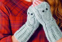 Strikk / Knitting / Oppskrift håndledsvarmer.