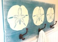 Coastal Towel & Coat Racks / Handpainted wooden towel racks.  Made in the USA! / by Outer Banks Trading Group, Inc.