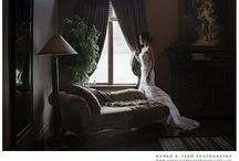 My wedding photo work. / Wedding photos, bridal images, wedding ceremony, wedding reception