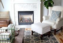Living & Family Room Spaces / Beautiful living room and family room inspiration! From rustic to modern, colorful to neutral, there's a space here to inspire everyone! / by Linda (burlap+blue)