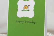Cards- Golf /Tennis