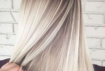 Hair Ash blonde color 2018