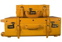 Leather Bound Luggage / Our Lilies & Dreams Leather Bound Luggage Collections