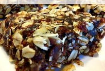 Coconut walnut bar