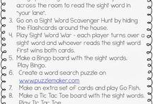 Classroom: Sight Words