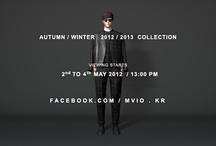 MVIO AW 2012 2013 COLLECTION / MVIO A/W 2012-2013 COLLECTION_2'PERSPECTIVES' 5월 2일(Wed) 오후 1시 엠비오 공식 페이스북에서 진행됩니다. http://facebook.com/mvio.kr