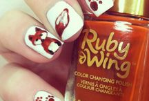 Ruby's Nail Art / We love doing our nails!