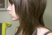 Слоистые волосы