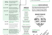 resumes / by Anna Cline