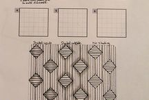 Zentangle / Zentangle patterns used most often.